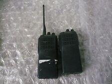 Lot of 2 Kenwood TK360 UHF FM Transceiver Radios  READ AD