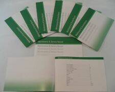 Replacement Generic Service History Book Suitable for TOYOTA Green
