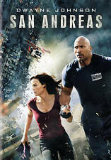 San Andreas (DVD, 2016, 2-Disc Set) brand new