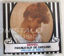 FRANCESCO DE GREGORI - RIMMEL /  PICCOLA MELA - CD Singolo  Nuovo Unplayed