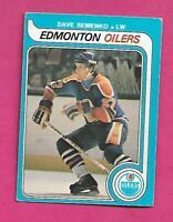 1979-80 OPC  # 371 OILERS DAVE SEMENKO ROOKIE VG  CARD (INV# C7888)