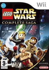 Lego Star Wars The Complete Saga Wii Nintendo jeu jeux game games spellen 1510