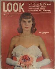 LOOK Magazine January 20 1948 Degas Maudlin Lamour Fashion Travel Debutante