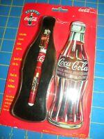 Coca Cola Collectible Ceramic Roller Ball Pen in Gift Tin - 1996 - Orig Pkg NEW