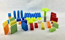 Unbranded Lego Bricks blocks Lot Of 75 Bricks And Base, palm tree building kids