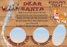 PERSONALISED SANTA & RUDOLF TREAT TRAY Drink Treat Milk Carrot Christmas Eve Box