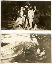 1931 Photos OR Oregon Yachats Group People Dixon Amundson Family Friends