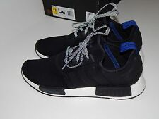 Adidas Men's Casual Shoes 13 GU Blue Tab Black NMD_R1 BOOST VNDS BO MAO w/Box