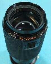 Kiron 80-200mm, f/4.5. AI Manual Focus Nikon Mount