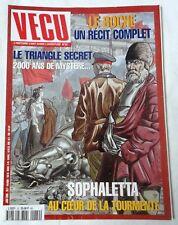 VECU - N° 22 - SOPHALETTA, Le Boche, Le Triangle Secret, Bleu Lézard, Kursk