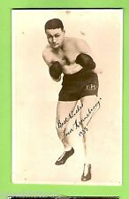 #G.  BOXING FAN PHOTO - FRED HENNEBERRY 1938