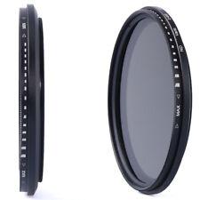 49mm Slim Fader Variable ND Filter Adjustable Neutral Density ND2 to ND400 LF155