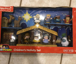 NEW LITTLE PEOPLE The Nativity Set Baby Jesus 3 Kings Kids Toy A Christmas Story
