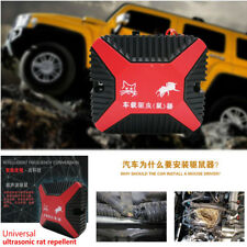 Universal Double Ultrasonic Car Engine Vehicle Mouse Chaser Monitor Rat Repeller