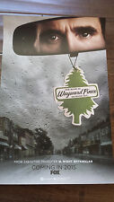 2014 SDCC COMIC CON EXCLUSIVE FOX POSTER WAYWARD PINES COMING IN 2015 SHYAMALAN