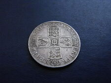 Queen Anne Silver SEPTIMO Half-Crown, 1708