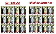 (60 Pack) - Alkaline AA - 1.5v - Panasonic Batteries (Exp 2025)