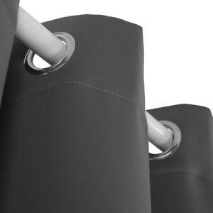 (110cm  x 210cm , Dark Grey) - Deconovo Thermal Insulated Sound Proof Curtains