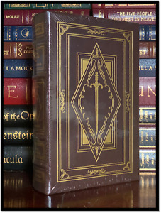 The Sword Of Shannara ✎SIGNED✎ by TERRY BROOKS New Easton Press Leather Hardback