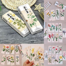 32Pc/Set Flower Leaves Pattern Bookmark Paper Book Marks Reading Stationery Gift