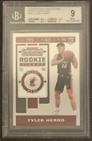 2019-20 Panini Contenders Tyler Herro Rookie RC Photo Variation #142 BGS 9 Mint
