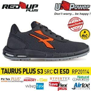 UPOWER SCARPE ANTINFORTUNISTICA TAURUS PLUS S3 CI SRC ESD U-POWER Red Up Plus