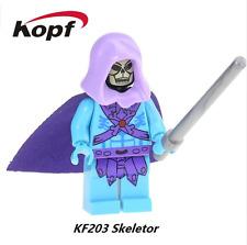 Skeletor Masters of the Universe custom Minifigure Fits Lego
