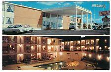 Ramada Inn, Longview, TX Texas Estes Parkway I-20 Motel Hotel, chrome postcard