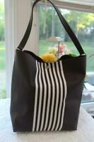 Henri Bendel Limited Edition Signature Stripe Hobo Bag (PU220