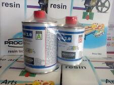 Prochima resina migliorata E30 Plexi fluid 2.0 trasparente non ingiallente 800 g