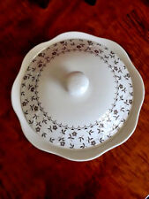 Royal Staffordshire Heirloom Ironstone J & G Meakin England Round Covered Dish