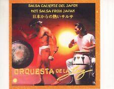 CD ORQUESTA DE LA LUZsalsa caliente del japonUS 1991 NEAR MINT (R3217)
