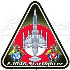 F-104 STARFIGHTER DANIMARCA Lockheed F-104G Royal Danese Forza Aerea Adesivo