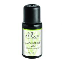 Lemongrass - Ellia 15ml Essential Oils - Finer Oils