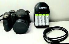 FUJIFILM Digital Camera FINEPIX S1800 18x wide angleZoom 12MP Case .Battery Fuji