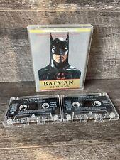 Batman Returns: double audiobook cassette Tapes (Speaking Books, 1992) RARE DC