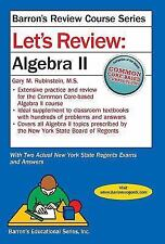 Let's Review: Let's Review Algebra II by Gary M. Rubenstein M.S. (2016,...