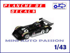 Décals  pour kit JPS Prépeint - Wolf Dallara - Can Am 1977 -  ref : KP379