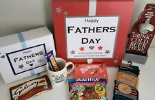 Luxury Fathers day/ Dad Gift boxes filled and personalised