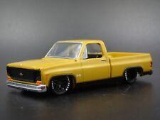 1973 73 CHEVY CHEVROLET SILVERADO SQUARE BODY TRUCK 1/64 SCALE DIECAST MODEL CAR