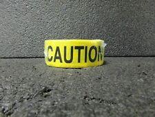 "BRADY Barricade Tape, Black/Yellow, 2"" x 150 ft., Caution, 20TK81(MK)"