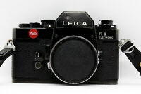 Leica R3 electronic Kamera • Tasche • SERVICED • 100% OK • 📸  35mm analog Leitz