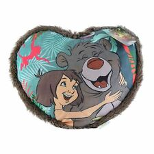 New Jungle Book Mowgli & Baloo Heart Pillow 32cm Bed Cushion Stuffed Soft Pillow