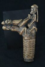 Dayak Kalimantan Borneo Indonesia carved wood figure Amulet or Stopper or ?