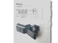 BOSCH Ladedruck Sensor Ansauglufttemperatur 0281006059 SEAT SKODA VW