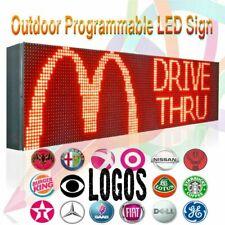 """7"""" X 63"""" Led Lan animação de rolagem Programável/sinal de exibição de texto de negócios"""