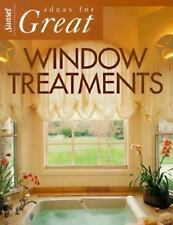 Ideas for Great Window Treatments (Sunset Home Improvement Book), , Good Book