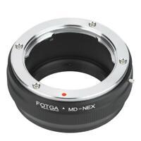 FOTGA MD-NEX Lens Adapter Ring for Minolta MD Lens to for Sony NEX Mirrorless
