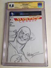 CGC SS 9.8 Justice League #1 variant Garcia-Lopez Super Powers The Flash art