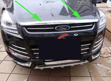 Chrome Front Grille Around Trim for 2013-2016 FORD Escape kuga Molding New